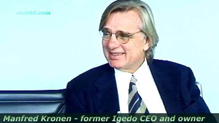 photo from Manfred Kronen CEO Igedo Company