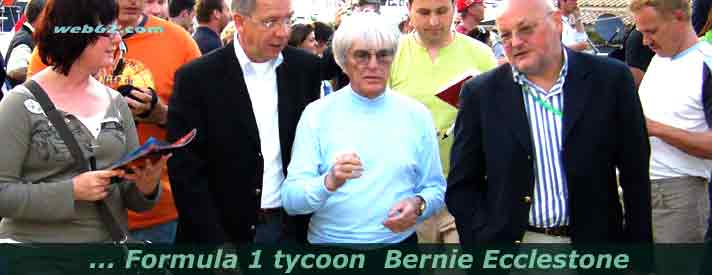 photo from Bernie Ecclestone