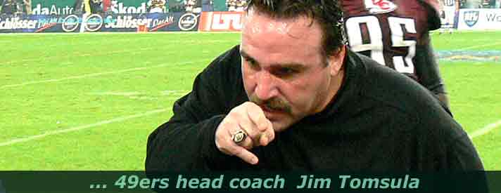 photo from Jim Tomsula 49ers