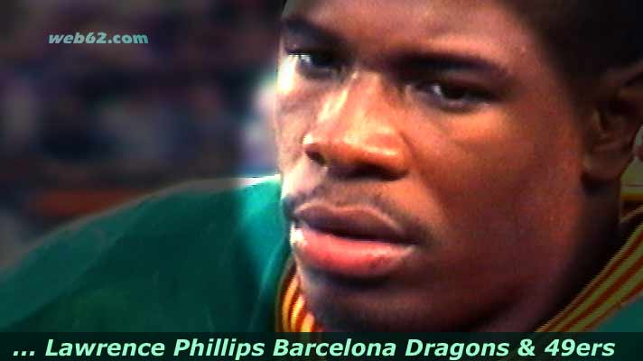 photo from Lawrence Phillips Barcelona Dragons 49ers