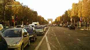 Le Avenue des Champs Elysees photo