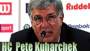 Pete Kuharchek head coach Rhein Fire