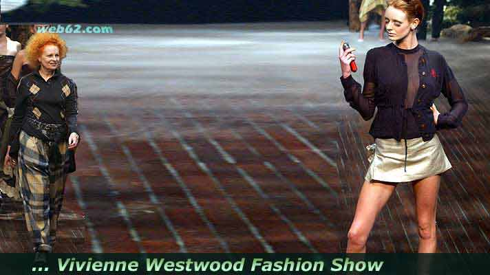 photo from Vivienne Westwood Fashion Show