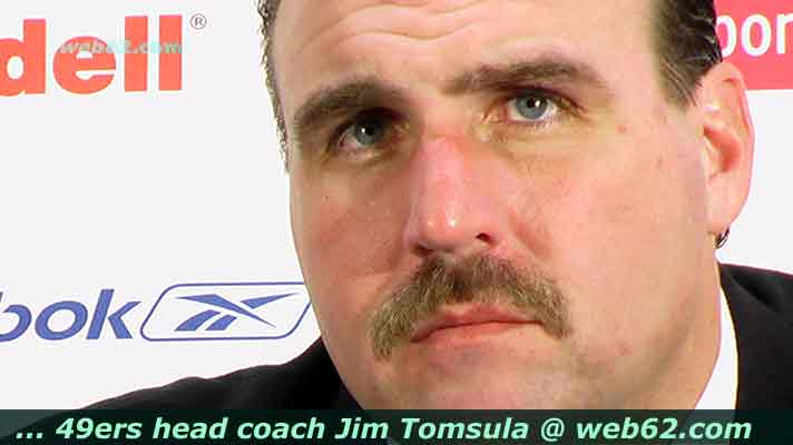 Jim Tomsula head coach 49ers